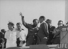 Гагарин Юрий Алексеевич на Кубе.