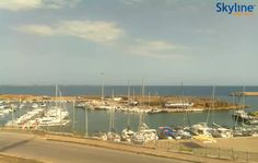 Live Cam Harbour of Le Castella in Isola Capo Rizzuto #Crotone #Italy #Travel