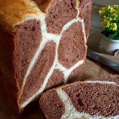 My Mind Patch: Breadmaker Giraffe Bread 面包机长颈鹿吐司 Bread Bun, Bread Rolls, Giraffe Bread Recipe, Biscuit Donuts, Biscuits, Panda Bread, How To Make Bread, Bread Baking, Chocolate Recipes