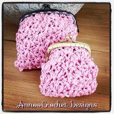 Annoo's Crochet World: Shabby Chic Evening Purse Free Pattern
