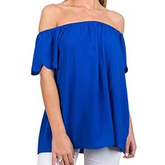 Leave Nothing To Chance Top, Royal Off Shoulder Blouse, Off The Shoulder, New Fashion, Fashion Outfits, Fashion Essentials, Fashion Boutique, The Selection, Promotion Code, How To Wear