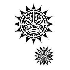Idea tattoo sun