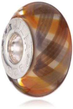 Authentic Chamilia RETIRED Vivace Murano Glass Bead * Sterling Silver 2110-1107 -- You can find out more details at the link of the image. (Amazon affiliate link)