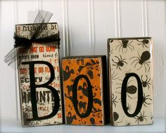 Word or Name Block Set... Any Name or Word... by doubledutydecor