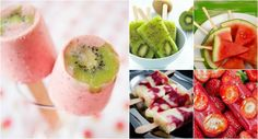 picole dieta regime Light Recipes, My Recipes, Healthy Recipes, Candy S, Cold Meals, Fresh Rolls, Sushi, Smoothies, Food And Drink