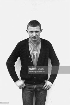 Chelsea football fan wearing a strip and knitted cardigan, Fulham Broadway, London, Chelsea Football, Football Fans, Fulham, Euro, Broadway, Men Sweater, London, Sweaters, How To Wear