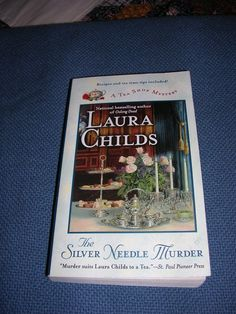 The Tearoom Mysteries by Laura Childs!