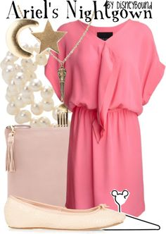 """""""Ariel's Nightgown"""" by lalakay on Polyvore"""