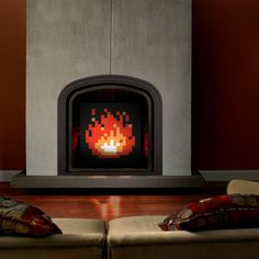 Zelda Fireplace Art - way better than the one @Andrew Dremak posted