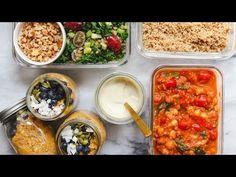 (13) Easy Vegan Meal Prep in Under 1 Hour (Cozy & Healthy) - YouTube