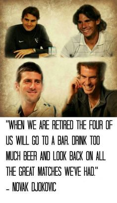 The Irreplaceable 4 #atptennis #menstennis #djokovic