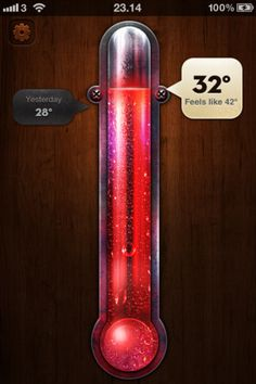 Thermo - the most stunning weather app I've ever seen.
