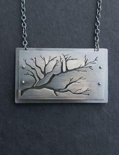 Tree Branch Shadow Box
