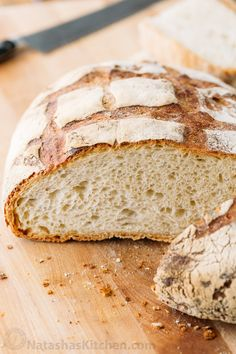 This Crusty French Bread is the perfect blend of chewy and super soft. Learn the secret to the crispiest crust that crackles and crunches as you slice.