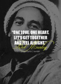One Love - Bob Marley makes me happy and reminds me of home because its what my parents listen to at home sometimes and it inspire wanderlust
