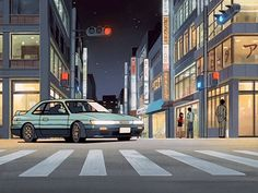 i don't watch anime, but i appreciate the art. Aesthetic Gif, Aesthetic Pictures, Aesthetic Wallpapers, Vaporwave, Anim Gif, Anime City, Gifs, Old Anime, Animation