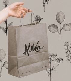 Concept: Althea High Quality Organic Herbs Brand Identity and Packaging — The Dieline - Branding & Packaging Design