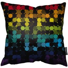 Dotty Art Cushion by Nathan Jurevicius