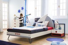 #Newjoy Nautica Oda http://www.newjoy.com.tr/tr-TR/Cocuk_Odalari-p/Nautica-37 #nautica #erkek #erkekçocuk #oda #room #kidroom #çocukodası #mavi #denizci #mobilya #tasarım #yatak