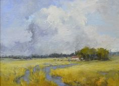 """Bethanne Kinsella Cople, """"Partly Cloudy"""" - 16x20, oil on canvas -- at Principle Gallery"""