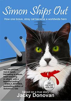Simon Ships Out. How one brave, stray cat became a worldwide hero: Based on a true story by Jacky Donovan http://www.amazon.com/dp/B00OWKJWKS/ref=cm_sw_r_pi_dp_cctZvb1EM82ST