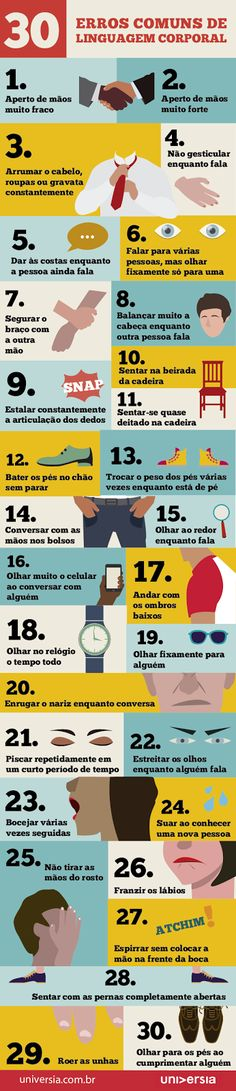 Carlos Aurélio Pereira.: Os 30 erros comuns de linguagem corporal Alta Performance, Experiment, Success, Body Language, Human Resources, Way Of Life, Self Improvement, Self Help, Personal Development