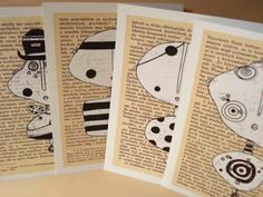 handmade postcards ideas - ค้นหาด้วย Google