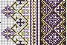 Фб Cross Stitch Borders, Cross Stitch Flowers, Cross Stitch Patterns, Needlepoint Patterns, Embroidery Patterns, Palestinian Embroidery, Tablet Weaving, Bead Crochet Rope, Pattern Library