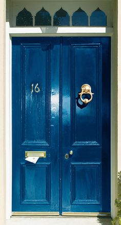 Take an exotic adventure without leaving the comfort of home. Wild Blueberry, Aura Grand Entrance paint brings Morocco to your doorstep. Exterior Doors, Interior And Exterior, Interior Design, Front Door Colors, Front Doors, Front Porch, Wild Blueberries, Exterior Paint Colors, Grand Entrance