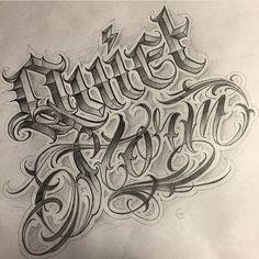 Boom!!!!! Fucking Nice @grizzlyav @grizzlyav @grizzlyav  #letteringcartel #lettering #customlettering #customscript #script #chicano