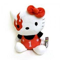 Hello Kitty - Mad Barbarians Plush - Red - #hellokitty #plushies #plushy #softtoys https://www.iloveplushies.co.uk/product/B017O4NAM4/Hello+Kitty+-+Mad+Barbarians+Plush+-+Red+-