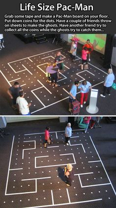 Life-sized Pac-Man.
