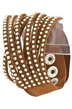 Bella Style Boutique - Shredded Wrap Bracelet, $20.00 (http://www.shopbellastyle.com/shredded-wrap-bracelet/)
