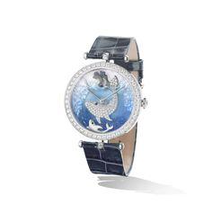 Van Cleef and Arpels, Polar Landscape Extraordinary Dial™ ~$150,000