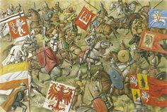 Batalla de Tannenberg. Más en www.elgrancapitan.org/foro