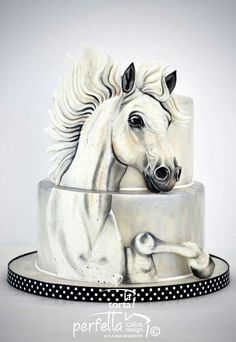 Birthday Cake Decorating Ideas - 6 Easy to Make Cake Ideas - Life ideas Crazy Cakes, Fancy Cakes, Cake Icing, Fondant Cakes, Unique Cakes, Creative Cakes, Cupcakes, Cupcake Cakes, Bolo Fashionista