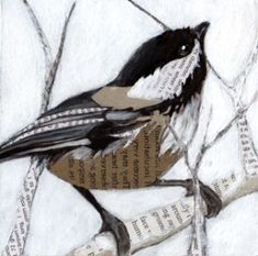 Chickadee Collage.