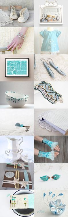 Blue memories by Agnieszka on Etsy--Pinned with TreasuryPin.com