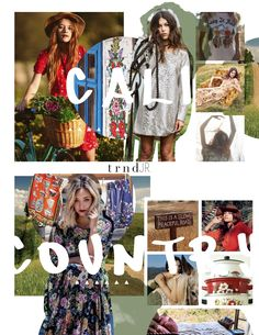 TRNDJR. SS18 Trend Report - Seasonal Influences {Direction for the Junior and Young Contemporary fashion market levels}  Shop The Complete Report Here: http://www.thetrndforecast.com/new-products/trndjr-springsummer-2018-complete-report  #trends #trndJR #thetrndforecast #ss18 #junior #youngcontemporary #keyinfluences #spring #calicountry #inspiration