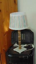 Treiholzlampe Unikat *Tischlampe*Textil* Treibholz* ungewöhnliche Lampe