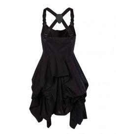 black dress all saints