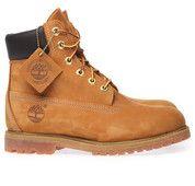 Gele Timberland boots 6in Premium Boot enkelaarsjes  #boots #mooieschoenen #timberland