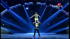 Indias Got Talent Season 3 - Bad Salsas terrifying moves (Ep. 16, 8/8)