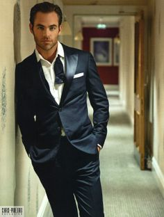 Chris Pine. I mean, since you already loosened your tie and stuff...
