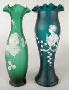 Antiques Glass Flight Tracker Art Nouveau Glass Vase Loetz Um 1900 Loetz Vase Durable In Use