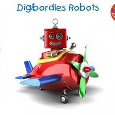 Digibordles-robots Een waanzinnig gave digibordles rondom robots waarin verschillende begrippen worden aangeboden:  - kleuren - vormen - cijfers en hoeveelheden - reeksen