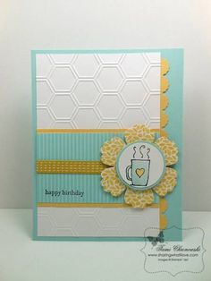 Morning Cup in Pool Party by TamiC - Cards and Paper Crafts at Splitcoaststampers