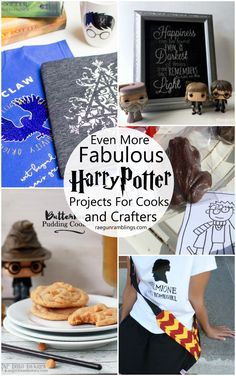 I want to make them all. Great Harry Potter recipes and craft tutorials!
