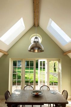 New Living Room Lighting Ideas Ceiling Frames Ideas Living Room Green, New Living Room, Farrow And Ball Living Room, Farrow And Ball Kitchen, Green Dining Room, Small Living, Interior Design Trends, Architecture Design, Kitchen Lighting Design