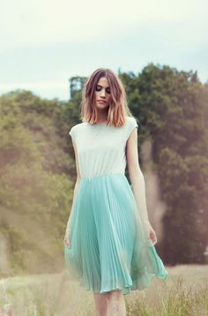 It's selling fast! Grab our new Midi Pleated Skirt Dress to stay cool in the balmy summer heat.